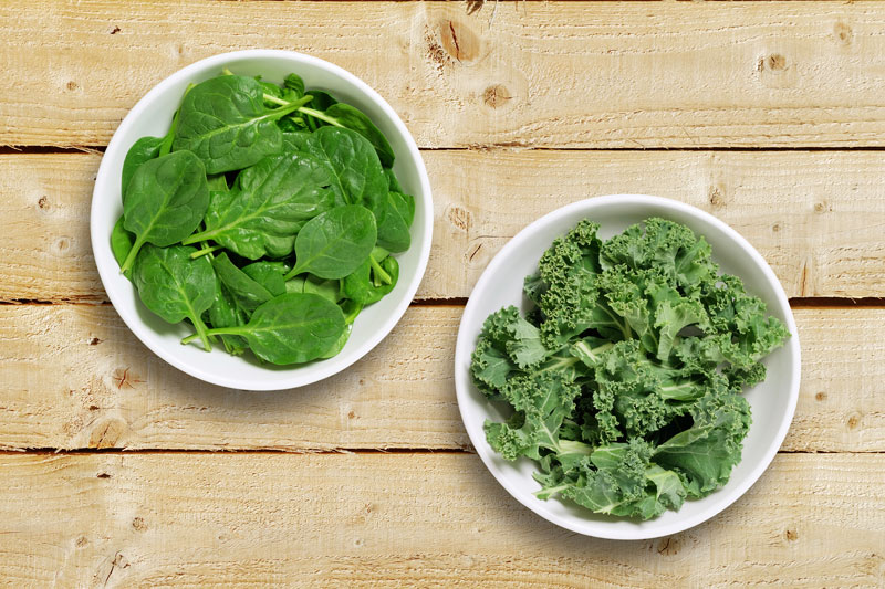 Epinard et kale - WE ARE CLEAN - CLEAN EATING