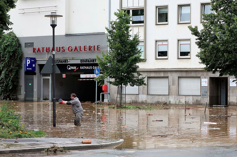 Hagen inondations - WE ARE CLEAN - CLEAN FOR GOOD