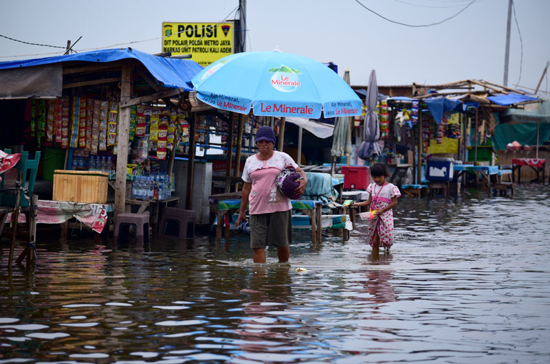 inondations Jakarta - WE ARE CLEAN - CLEAN FOR GOOD